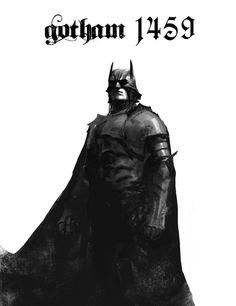 Batman Reimagined During The Renaissance.