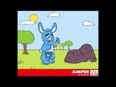 Kinderliedjes Jumper De diersuper - Kinderliedje O, konijntje