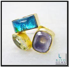 Multi Red Onyx Gems 18-Kt Gold Plating Memento Mori Ring Sz 7 Gprmul7-5298 http://www.riyogems.com