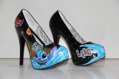 I think I need these. Lilo & stitch shoes disney heels
