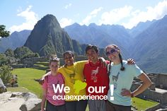 We loved our Ecuaexperience!  Extra Week - Machu Picchu, Perú.          Apply now!    www.ecuaexperience.com Machu Picchu, Peru, How To Apply, Turkey