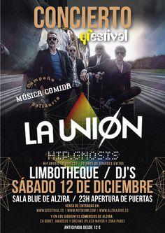 Concierto de La Unión + Limbotheque en Alzira