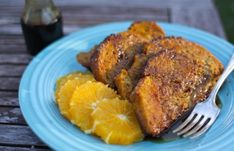 BAKED PULL-APART PUMPKIN FRENCH TOAST  Ingredients  1 loaf hearty whole wheat bread, sliced  3 large eggs  1 cup milk or cream  3/4 cup pumpkin puree  1/4 cup salted butter, melted  2 Tablespoons molasses  2 teaspoons pumpkin spice blend  1/4 cup brown sugar