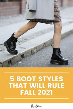 Here are the best of the best boot trends to invest in right now, plus one style you're better off retiring to the back of your closet. #boots #fall #shoes Lace Up Boots, Leather Boots, Leather Jacket, Waterproof Shoes, Cool Boots, Platform Boots, Winter Boots, Knee High Boots, Fashion Boots