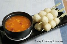 NANAY LILAY'S FISHBALL DIPPING SAUCE        Want to learn how to make this? Then click this link: http://www.youtube.com/watch?v=qXV43nmdSHs=youtu.be