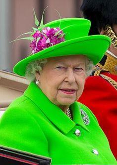 Queen Elizabeth, June 11, 2016 in Rachel Trevor Morgan | Royal Hats