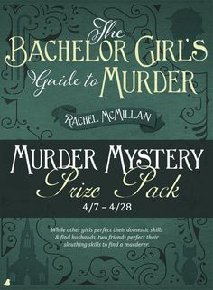 Meet best friends and flatmates Merinda and Jem, who launch their own Sherlock Holmes-esque consulting detective business in 1910 Toronto in Rachel McMillan's new book,