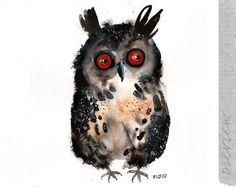 Un-hibou-original-peint-par-ozozo