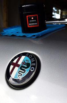 Perfect match 👌 Alfa Romeo and Swissvax 🇮🇹🇨🇭 Alfa Romeo, Perfect Match, Switzerland, Italy, Usa, Handmade, Italia, Hand Made, Handarbeit