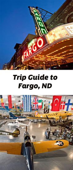 Fargo, on North Dakota's eastern border, beckons with sophisticated food, cool shops and classy accommodations. Trip guide: http://www.midwestliving.com/travel/north-dakota/fargo/fargo-trip-guide/