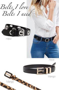 Accessoires Gürtel: Welche Gürtel jede Frau haben muss!