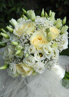 Jemná svatební kytice
