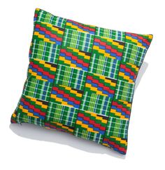 This beautiful cushion is the Joseph from Arhinarmah. Bold geometric patterns and elaborate splashes of colour are perfect for injecting a dash of excitement and a little joy into dull lifeless interiors.