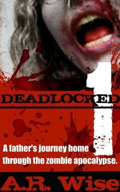 Deadlocked by A.R. Wise  Fun Zombie book. Read my review and download it for yourself here: http://www.amazon.com/gp/pdp/profile/ACK509PISY80P/ref=cm_cr_thx_pdp
