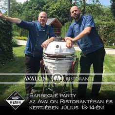Már csak 4 nap és kezdődik a #barbecue party az Avalon Ristorante kertjében! BBQ ételek #koktélok koncertek DJ-k és remek bulihangulat vár Rátok #július 14-14-én! Tartsatok velünk!  #avalonristorante #avalonpark #BBQ #barbecuparty #BpBARbq #coctails #tastyfoods #gastronomy #summer #program #dailygram