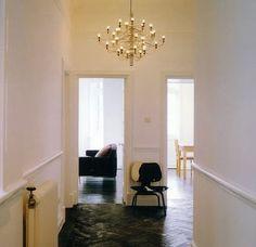 Hallway 2097 chandelier