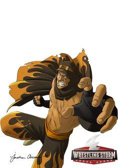 Wrestling Storm - Character Design - HARDCORE 4 by tonton-jojo on DeviantArt