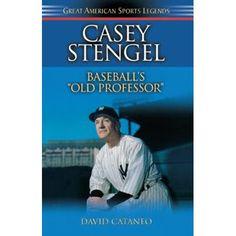 Casey Stengel : Baseball's Old Professor Baseball Card Shop, Old Baseball Cards, Football Cards, American Sports, American League, Casey Stengel, Bo Jackson, Great Team