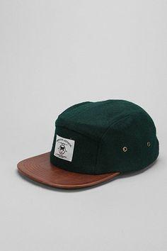 ACAPULCO GOLD PAISLEY 5-PANEL HAT MENS STREETWEAR STRAPBACK CAP BLACK