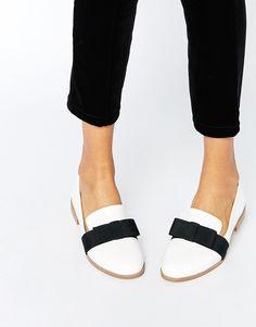 Image 1 ofASOS MISSY Flat Shoes