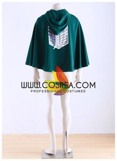 Attack On Titans Survey Corp Cloak Cosplay Costume