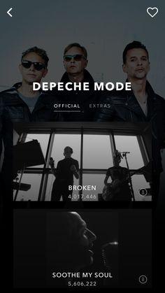 Vevo - Watch Music Videos Design Patterns - Pttrns