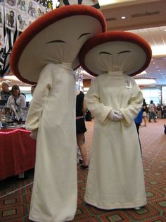 this is a picture of me and mah momma dressed as the dancing mushrooms from Fantasia at the Dallas A-Kon. We didnt take the picture, i found it and decided to put it up though. Hope you like it