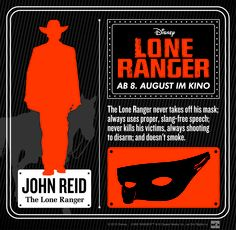 #LoneRanger © 2012 Disney.  LONE RANGER ™ & © Classic Media