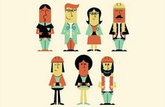 Creative Character, Design, Infographic, Illustrations, and Illustration image ideas & inspiration on Designspiration Character Design Challenge, Character Design Sketches, Character Design Cartoon, Funny Character, Character Design Animation, Flat Design Illustration, Creative Illustration, Character Illustration, Illustration Art
