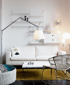 10x Tolomeo in huis