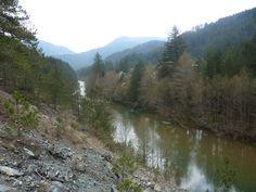 Aoos River, Epirus, Greece - 23 Apr 2011
