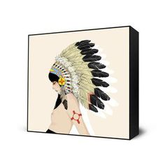 New Mexico Mini Art Block, $28, now featured on Fab.