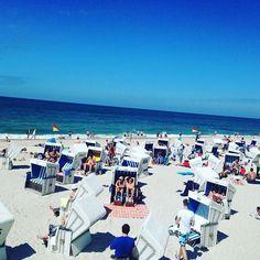 Beachlife ⚓️ #Westerland #Sylt #brandenburgerstrand #inselliebe #syltleben #beachlife #beach #nordsee #ocean #northsea #blueskies