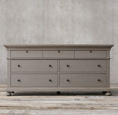St. James 7-Drawer Dresser- master bedroom dresser