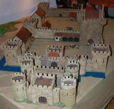Overview of one possible castle layout