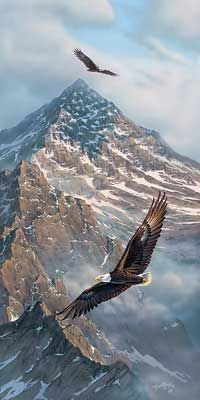Eagle Flag Wings   Home > On Freedom's Wing-Bald Eagle by Rick Kelley
