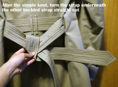 How to properly tie a classic Burberry trench coat knot in two ways in photos (Unisex) and is a Burberry Trench Coat worth the price?