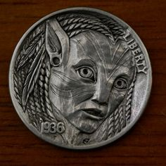 The hobo nickel is a sculptural art form involving the creative modification of small-denomination coins, essentially resulting in miniat.