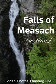 Admire the huge drop of the Falls of Measach in the narrow Corrieshalloch gorge (North Scotland) - Video, photos and info to plan your visit North Scotland, Scotland Hiking, Skye Scotland, Scotland Travel, Ireland Travel, Have A Great Vacation, Great Vacations, Scotland Destinations, Ireland With Kids