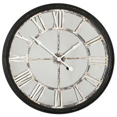 The Echo Wall Clock from Urban Barn is a unique home décor item. Urban Barn carries a variety of Clocks and other products furnishings. Great for my living room! A little smaller than the Old Station Wall Clock. Living Room Seating, My Living Room, Living Room Furniture, Dining Room, Cozy Living, Unique Home Decor, Home Decor Items, Room Accessories, Decorative Accessories