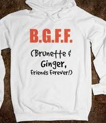 every brunette needs a redhead best friend - Google Search