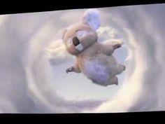 Tippy's FavorADs: Little Koala Bear Rocking For A Handful Piece Of Paper