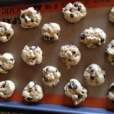 Fun twist to a chocolate chip cookie with all the same flavor.
