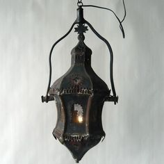 Antique spooky lantern!
