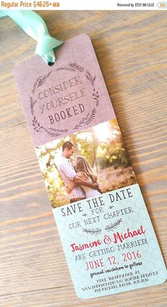 Save The Date Bookmark, save the date, bookmark, Wedding Stationery by RaspberryCreative Wedding 2017, Fall Wedding, Wedding Planner, Our Wedding, Dream Wedding, Wedding Album, Luxury Wedding, Elegant Wedding, Save The Date Invitations