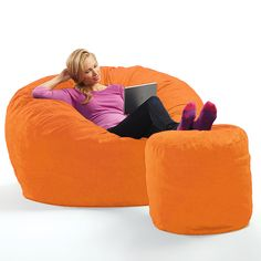 Micro Suede Theater Sack Bean Bag Chair At Brookstone