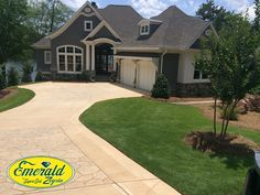 Enviable Emerald Zoysia snapped by Brandon Eubanks, sod salesman out of our Ft. Valley, Georgia, farm.   Let us quote you on Emerald sod 1-888-360-1125.