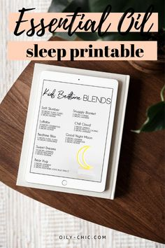 Make bedtime easier with this free printable of essential oil blends for sleep! Sleepy Essential Oil Blend, Essential Oils For Sleep, Essential Oil Storage, Essential Oil Diffuser, Essential Oil Blends, Copaiba, Linen Spray, Best Oils, Fractionated Coconut Oil
