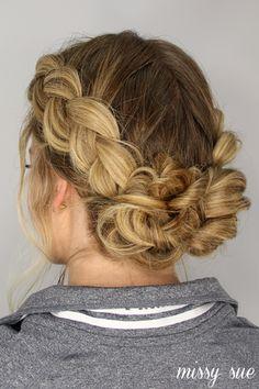 Side French Braid Ponytail | Missy Sue | Bloglovin'