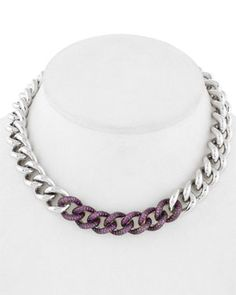 Franco Pianegonda 'Glitter' Silver Ruby Necklace... quiero 10
